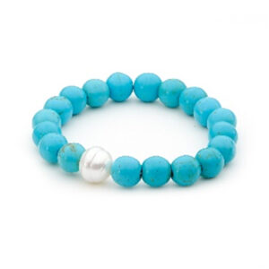 Howlite South Sea Pearl