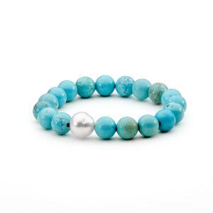 Howlite South Sea Pearl