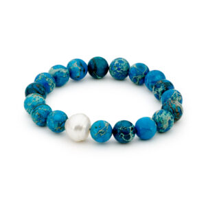 Jasper Teal South Sea Pearl