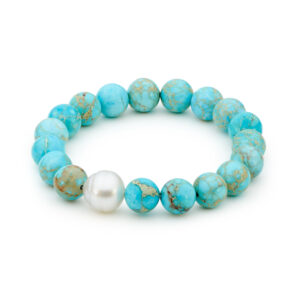 Jasper Turquoise South Sea Pearl