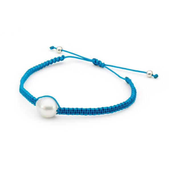 Blue Cord Bracelet