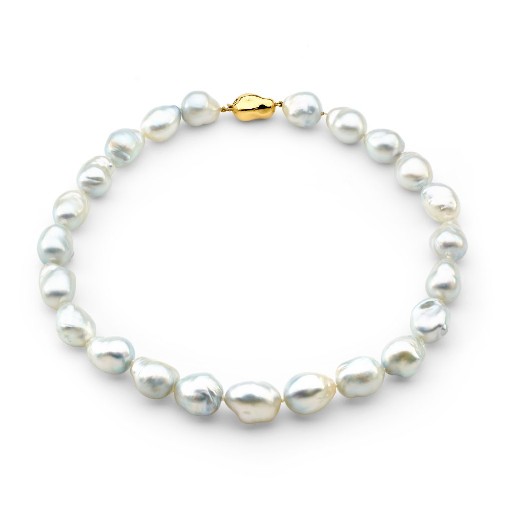 Strand of Baroque South Sea Pearls