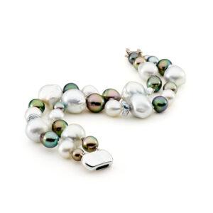 baroque pearl bracelet black pearl bracelet baroque pearls