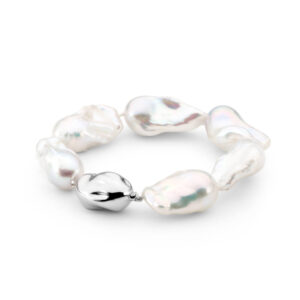 Freshwater baroque Pearl bracelet