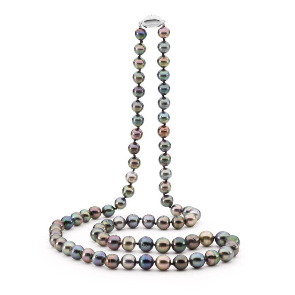 Double length Tahitian Circle Shaped Necklace