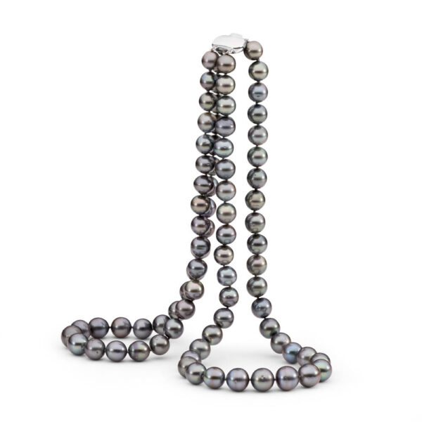 Two Row Tahitian Pearl Necklace